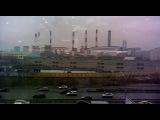 Вид из окна торгового центра в котором находится гипермаркет Гагаринский