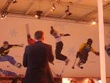 Битбоксинг в домике Самсунга на Паралимпиаде.