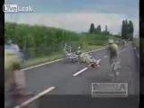 Падения на велосипедах